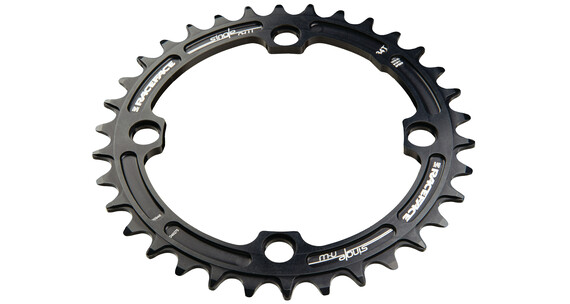 Race Face Single Narrow Wide Chainring 104 BCD schwarz